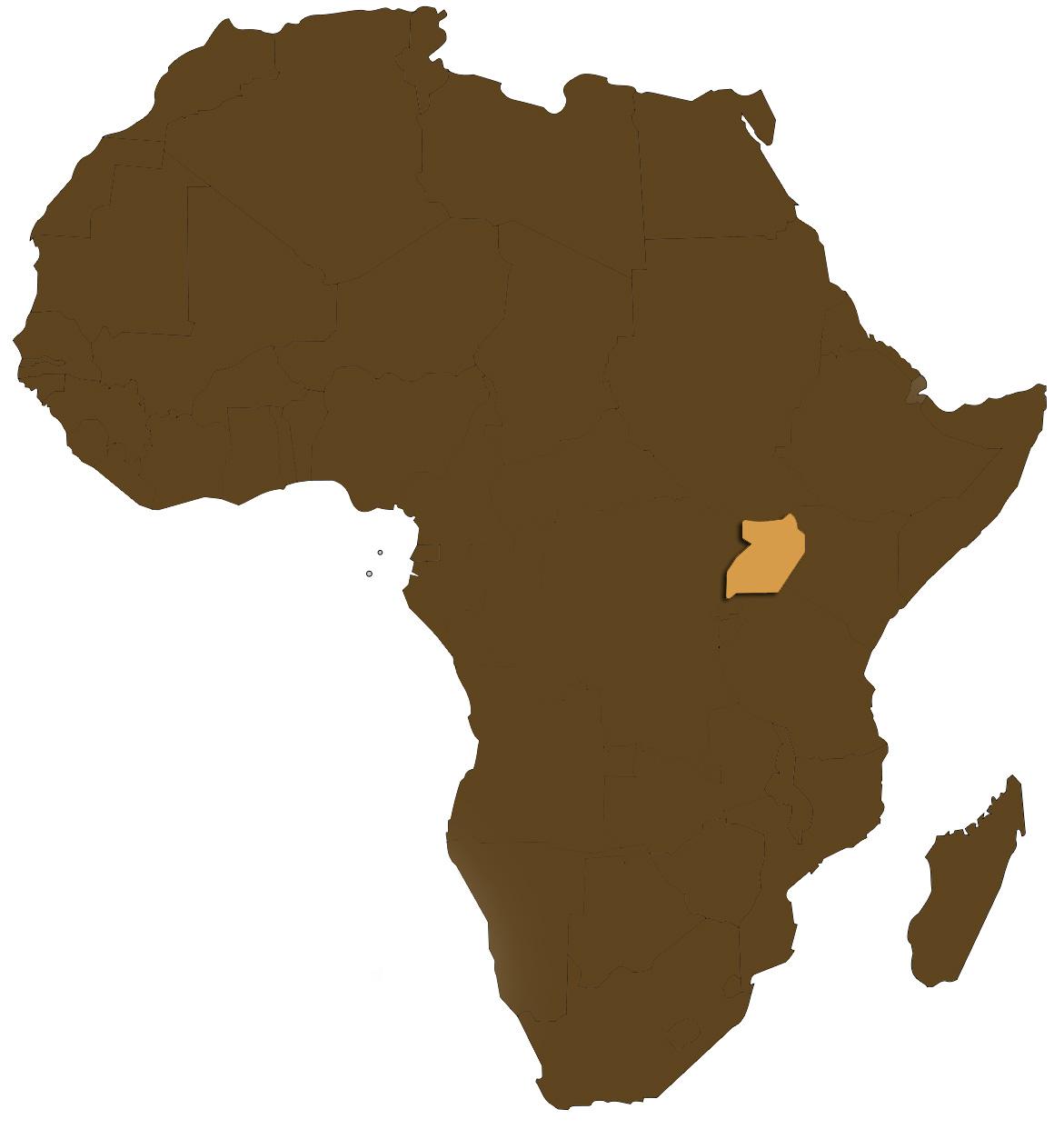 Africaugandamap Dan And Jodes In Gulu Uganda - Where is uganda