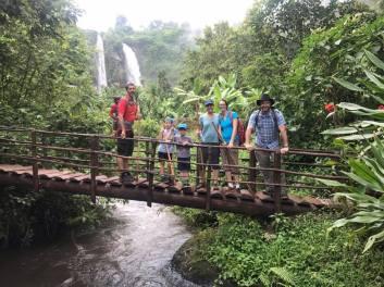 On a trek around Sipi Falls
