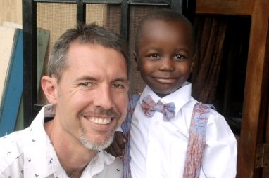 Myron and daddy before the wedding.
