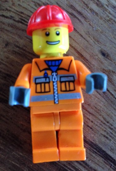 Mini lego worker 1